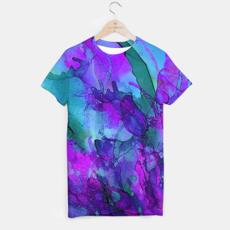 Thumbnail image of Purple Flower T-shirt, Live Heroes