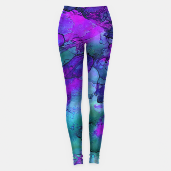 Miniature de image de Purple Flower Leggings, Live Heroes