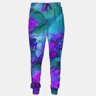 Purple Flower Sweatpants imagen en miniatura