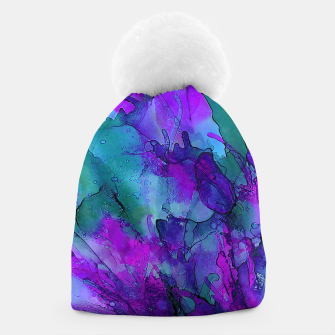 Thumbnail image of Purple Flower Beanie, Live Heroes