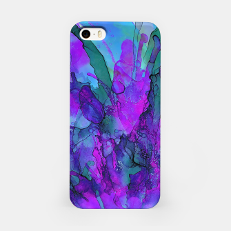 Purple Flower iPhone Case imagen en miniatura