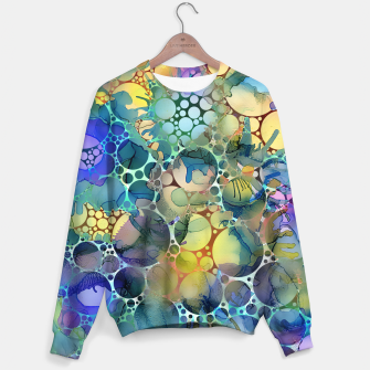 Dots on Painted Background Sweater imagen en miniatura