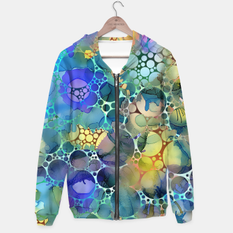 Dots on Painted Background Hoodie imagen en miniatura