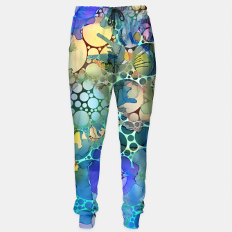 Dots on Painted Background Sweatpants imagen en miniatura