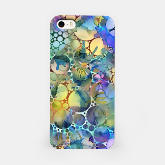 Imagen en miniatura de Dots on Painted Background iPhone Case, Live Heroes
