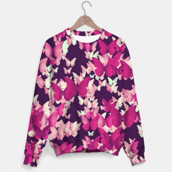 Thumbnail image of Butterfly Effect Sweater, Live Heroes