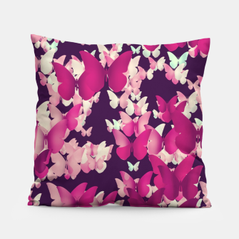 Thumbnail image of Butterfly Effect Pillow, Live Heroes
