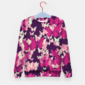 Thumbnail image of Butterfly Effect Kid's Sweater, Live Heroes