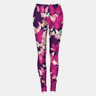 Thumbnail image of Butterfly Effect Leggings, Live Heroes