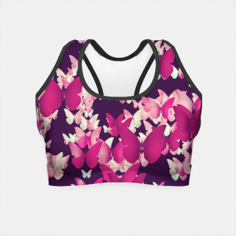 Thumbnail image of Butterfly Effect Crop Top, Live Heroes