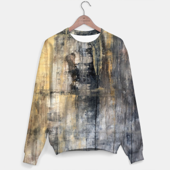 """Thumbnail image of """"1086 abstract jesus"""" Sweater, Live Heroes"""