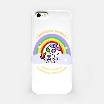 Miniaturka Unicorn Power - by Rainbows and Cotton Candy - iPhone Case, Live Heroes