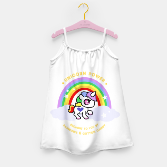 Miniaturka Unicorn Power - by Rainbows and Cotton Candy - Girl's Dress, Live Heroes