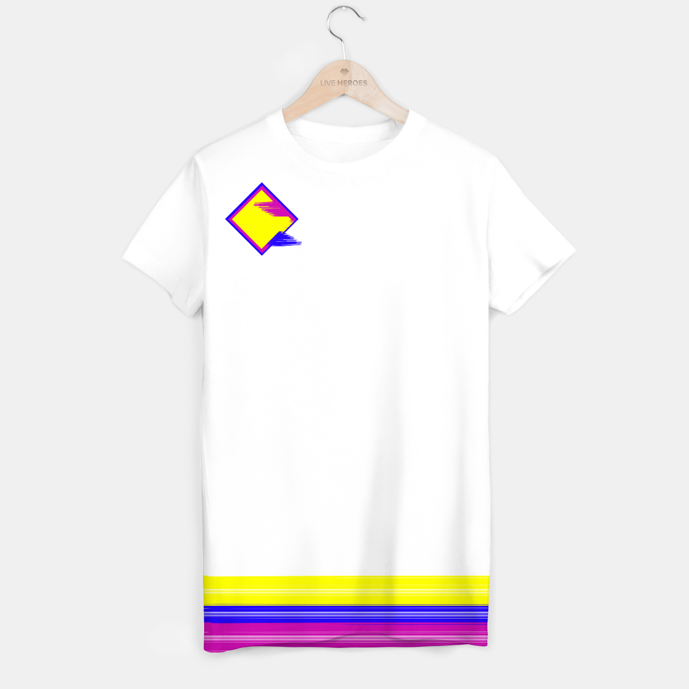 Image of Paint logo T-shirt - Live Heroes