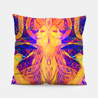 Thumbnail image of Mucha Remixed 01 Pillow, Live Heroes