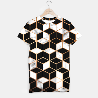 Miniatur Marble Geometry 005 T-shirt, Live Heroes