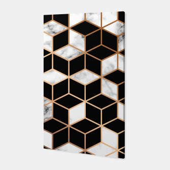 Miniatur Marble Geometry 005 Canvas, Live Heroes