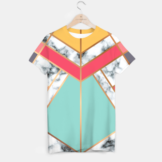 Miniatur Marble Geometry 020 T-shirt, Live Heroes