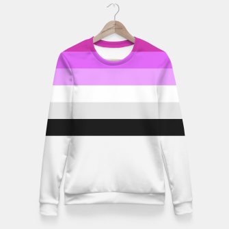 Thumbnail image of Colour is fabulous Fitted Waist Sweater, Live Heroes