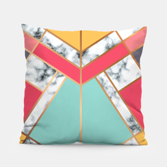Miniatur Marble Geometry 020 Pillow, Live Heroes