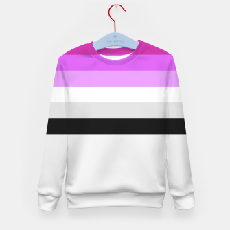 Thumbnail image of Colour is fabulous Kid's Sweater, Live Heroes