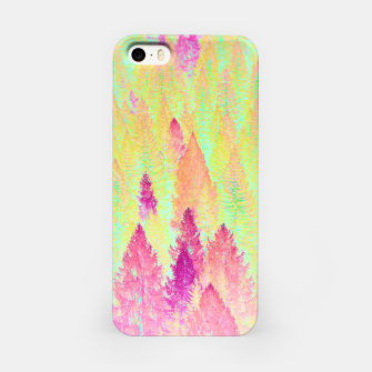 Miniature de image de Painted Forest iPhone Case, Live Heroes