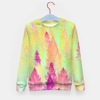 Thumbnail image of Painted Forest Kid's Sweater, Live Heroes