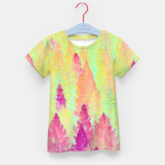 Thumbnail image of Painted Forest Kid's T-shirt, Live Heroes