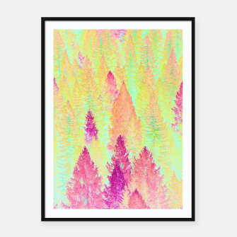 Thumbnail image of Painted Forest Framed poster, Live Heroes