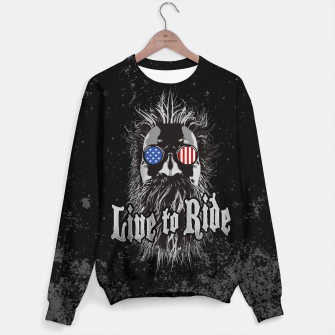Thumbnail image of Live to Ride Sweater, Live Heroes