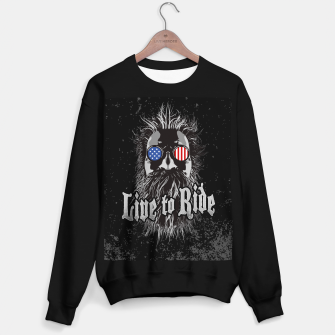Thumbnail image of Live to Ride Sweater regular, Live Heroes