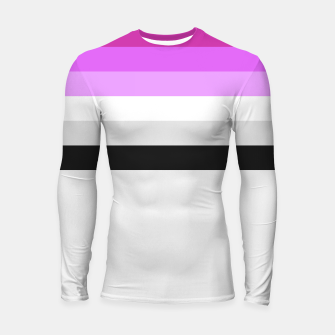 Thumbnail image of Colour is fabulous Longsleeve Rashguard , Live Heroes