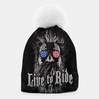 Thumbnail image of Live to Ride Beanie, Live Heroes