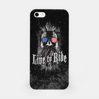 Thumbnail image of Live to Ride iPhone Case, Live Heroes