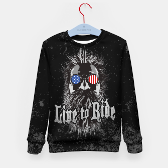 Thumbnail image of Live to Ride Kid's Sweater, Live Heroes