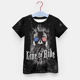 Thumbnail image of Live to Ride Kid's T-shirt, Live Heroes