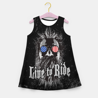 Thumbnail image of Live to Ride Girl's Summer Dress, Live Heroes