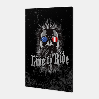Thumbnail image of Live to Ride Canvas, Live Heroes