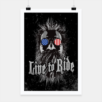 Thumbnail image of Live to Ride Poster, Live Heroes