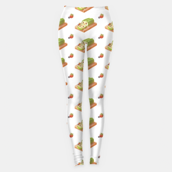 Thumbnail image of Matcha Cake Roll Leggings, Live Heroes