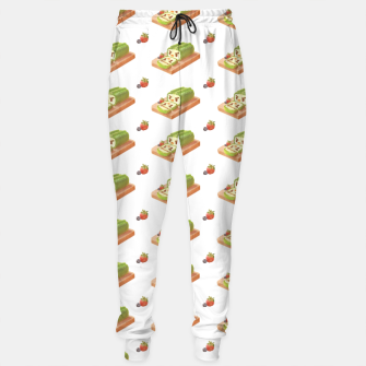Thumbnail image of Matcha Cake Roll Sweatpants, Live Heroes