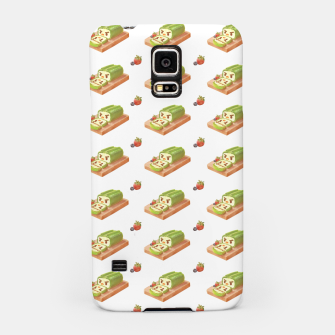 Thumbnail image of Matcha Cake Roll Samsung Case, Live Heroes