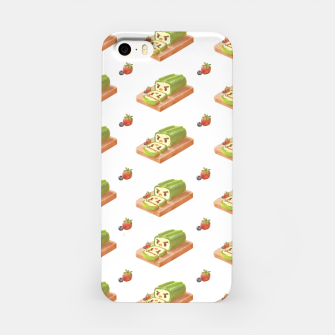 Thumbnail image of Matcha Cake Roll iPhone Case, Live Heroes