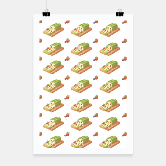 Thumbnail image of Matcha Cake Roll Poster, Live Heroes