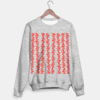 Miniatur Branches of leaves Sweatshirt regulär, Live Heroes