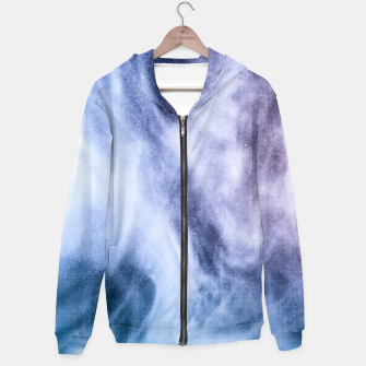 Thumbnail image of Blue purple white abstract heavenly clouds smoke Hoodie, Live Heroes