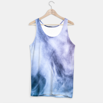 Miniaturka Blue purple white abstract heavenly clouds smoke Tank Top, Live Heroes