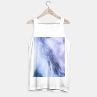Thumbnail image of Blue purple white abstract heavenly clouds smoke Tank Top regular, Live Heroes