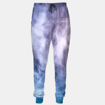 Thumbnail image of Blue purple white abstract heavenly clouds smoke Sweatpants, Live Heroes