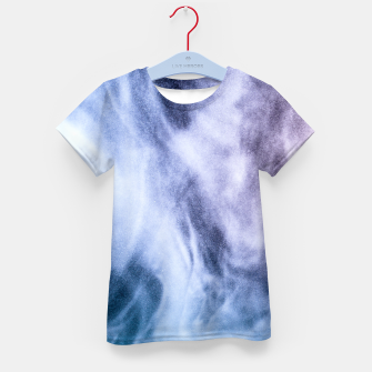 Thumbnail image of Blue purple white abstract heavenly clouds smoke Kid's T-shirt, Live Heroes